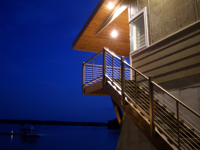 Kentucky Modern Lake House Ryan Thewes Architect, Nashville, Tennessee