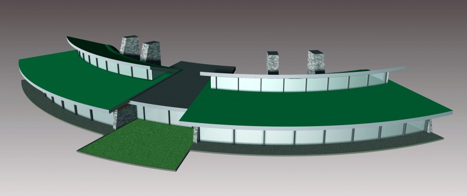 Modern Office Model Design 02