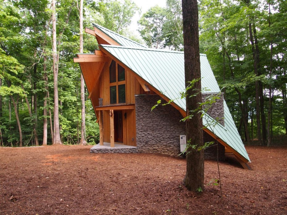 Ryan Thewes, Nashville Modern Architecture, Sharp Cabin