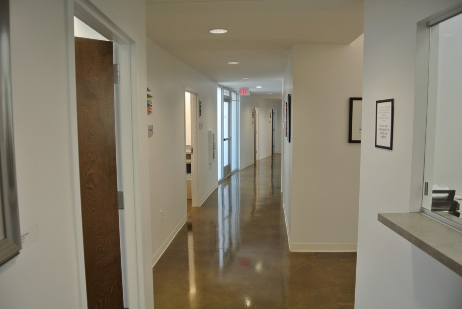 Modern Office Interior by Ryan Thewes Architect, Nashville, Tennessee