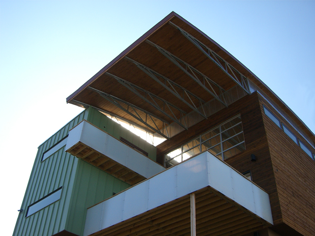 Modern Bow House Ryan Thewes Architect Nashville, Tennessee